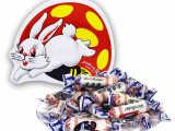 合肥厂家批发代理大白兔奶糖328g蘑菇兔原味铁听