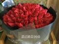 玫瑰礼盒装青岛花店鲜花同城速递市南市北李沧崂山城阳