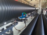 HDPE钢带增强波纹管 大口径排污管 钢带波纹管厂家