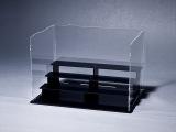 有机玻璃盒 四层阶梯组合型 手办收藏盒防尘展示盒亚克力移不动