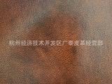 长期供应 高档复古黄棕色油腊变色牛皮 进口油腊皮 样式可加工