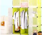 厂家直销爆款pp塑料魔片收纳柜 衣柜加深款 树脂万能板diy组合