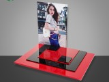 厂家定制屈臣氏亚克力商品展示架 多功能有机玻璃陈列分割盒