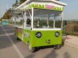 厂家直销多功能电动餐车小吃车