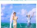 三亚婚纱照蜜月旅行底片全送包住宿接机优惠价5999