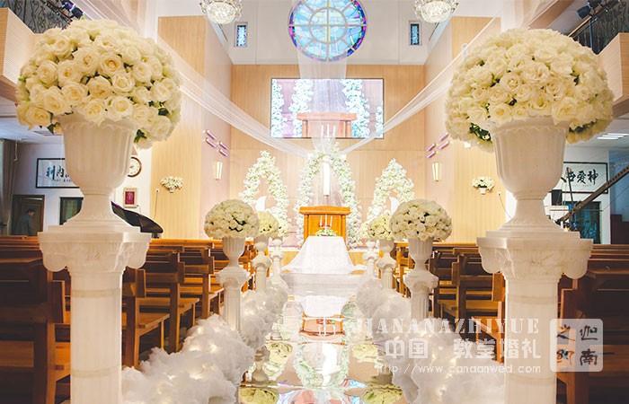 济南迦南之约教堂婚礼,仅需2000元