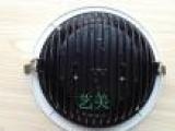 新款筋条COB筒灯外壳 20w天花灯 压铸筒灯灯具配件 光源集成