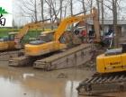 武汉市东西湖区江南水挖出租挖泥船租赁水陆挖机出租