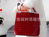 2014新品女包 意大利进口材质牛皮包 商务OL通勤包手提包单肩