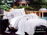 厂家直销星级床上用品,高质量酒店布草0017