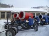 滑雪场建设用的造雪机,喷雪机,自走式造雪设备