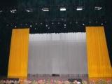 平谷阻燃舞台幕布制作厂家金丝绒舞台对开大幕