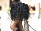 2014年热销欧美风情五层网纱蛋糕裙蓬蓬裙迷你短裙百褶裙半身裙