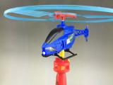 厂家直销拉线发光飞机 儿童手拉线小飞机 拉线直升飞机 玩具飞机