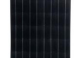 100W太陽能半柔性板