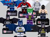 益智启蒙玩具积木蝙蝠侠8款人仔 动漫人物figures 840