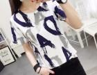 广东女装短袖纯棉T恤衫低价处理韩版尾货河北省冀州市在哪里批发