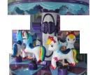 最新游戏设备豪华六人转马全身玻璃钢盈利利器
