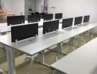 杭州厂家直销 办公桌简约4人位 现代办公桌4人