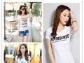 外贸原单女装夏季短袖T恤清仓处理 韩版服装批发 东莞厂家清货