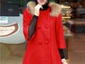 沈阳五爱冬季女装棉服批发拿货进货最低价中长款韩版毛呢外套批发
