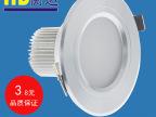 古镇LED灯具配件批发 3W筒灯 LED筒灯外壳 LED外壳 筒灯套件