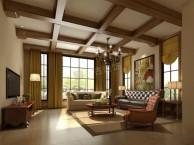 渝北约克郡别墅美式风格装修设计方案图 天古设计师陈忠作品