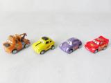 供应SM四款汽车总动员2回力车玩具,卡通玩具车