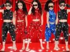儿童舞蹈服 2013年新款男女童街舞表演服 织里童装批发