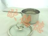 14CM复底奶锅 不锈钢奶锅 奶锅 牛奶