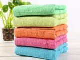 厂家促销 宾馆洗浴毛巾 素色黑条洗脸毛巾 8钱一次性外贸毛巾