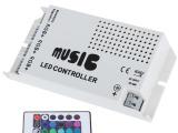 厂家直销红外24键音乐控制器 RGB七彩