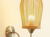 竹灯 竹编灯具 竹艺灯饰 节能灯--长期大量供应酒店客房壁灯