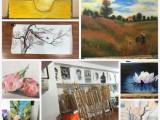 南京書東坡畫室專業的成人美術培訓班素描油畫水彩等美