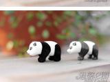 厂家订制儿童玩具新款国宝熊猫公仔 皮球材质易洗易擦 个性玩偶
