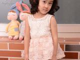 3320精致立体花裙式公主上衣 夏季时尚韩版女童装 品牌正品童装