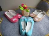 小清新云朵日韩月子鞋春秋孕妇鞋 舒适防滑 产妇软底瑜伽鞋