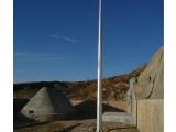 河南揚博15米國標環形避雷塔鋼管獨立桿避雷針塔