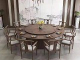 定制旋转大圆桌 酒店餐桌大圆桌 包厢旋转大圆桌