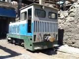 港口冶炼厂区货场轨道式牵引机车