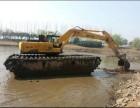 广东省佛山市厦工215水路挖掘机出租水上挖机出租服务专业技术