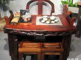 兰州市老船木茶桌椅子仿古茶台实木沙发茶几餐桌办公桌家具博古架