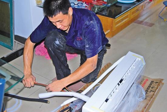无锡北塘区惠山中央空调清洗 维修