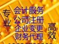 安吉专业会计服务 财务代理 公司注册与变更