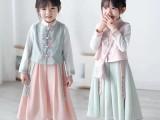 广州卡伊服饰品牌童装折扣汉服