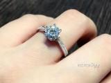 钻石闪还是莫桑石闪 肉眼能区分莫桑钻和钻石吗