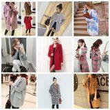 冬季毛呢外套女中长款秋冬加厚冬装新款女装韩版修身呢子大衣