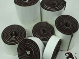 专业生产 自粘密封用毛毡条 背胶毛毡保护垫 卷装家居防滑垫 批发