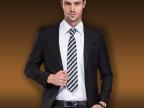 男装秋款韩版修身小西装外套 商务休闲西装 单扣鸡心领西装外套男
