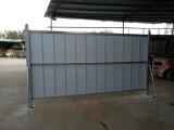 厂家直销市政道路护栏,临时围蔽围挡,彩钢板围挡,铁马护栏等